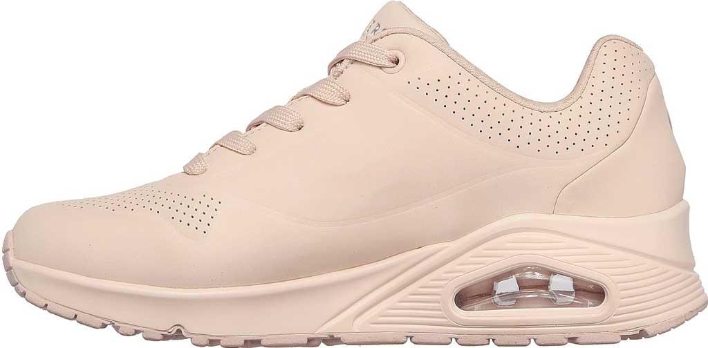 Women's Skechers Uno Frosty Kicks Sneaker, Light Pink, large, image 3