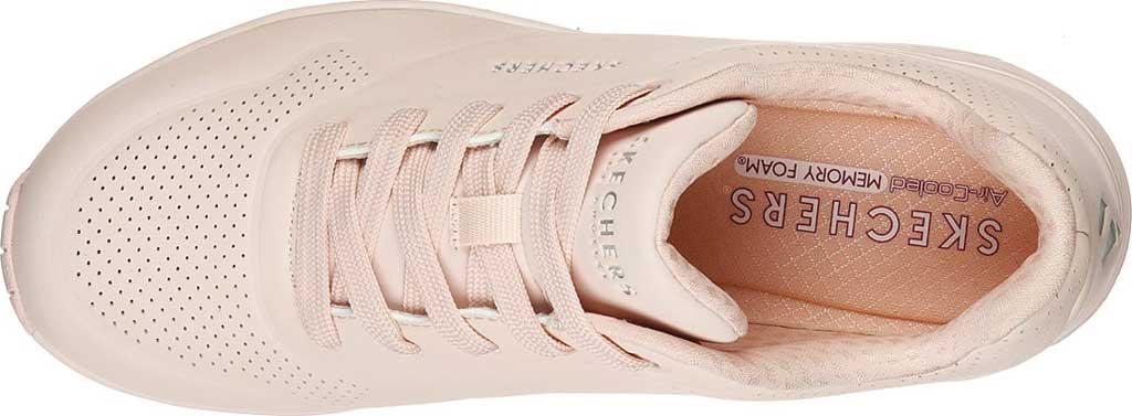 Women's Skechers Uno Frosty Kicks Sneaker, Light Pink, large, image 4