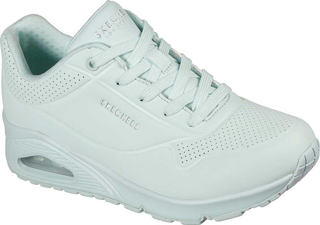 Women's Skechers Uno Frosty Kicks Sneaker, Mint, large, image 1