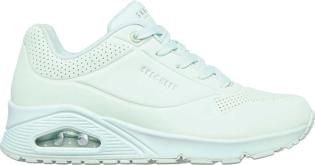 Women's Skechers Uno Frosty Kicks Sneaker, Mint, large, image 2