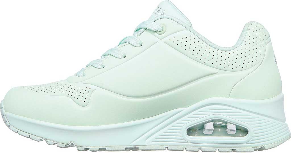 Women's Skechers Uno Frosty Kicks Sneaker, Mint, large, image 3
