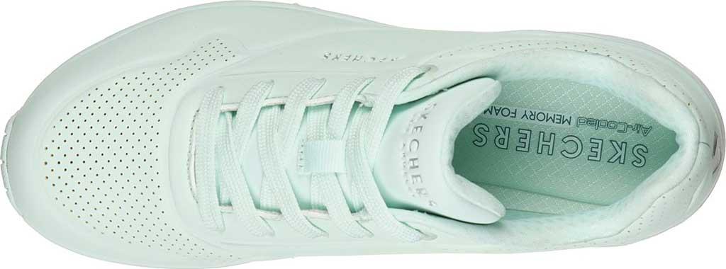 Women's Skechers Uno Frosty Kicks Sneaker, Mint, large, image 4
