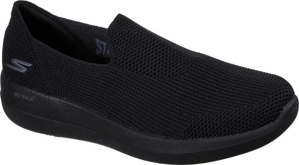 Men's Skechers GOwalk Stability Slip On Sneaker, Black/Black, large, image 1