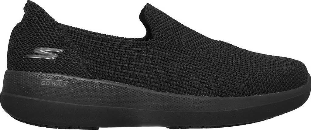 Men's Skechers GOwalk Stability Slip On Sneaker, Black/Black, large, image 2