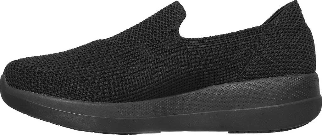 Men's Skechers GOwalk Stability Slip On Sneaker, Black/Black, large, image 3