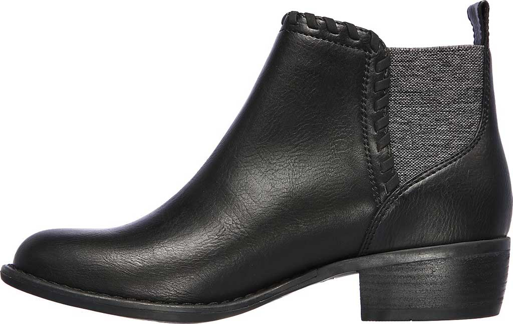 Women's Skechers Texas Fall Crush Bootie, Black/Black, large, image 3