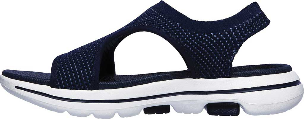 Women's Skechers GOwalk 5 Evolve Active Sandal, Navy, large, image 3