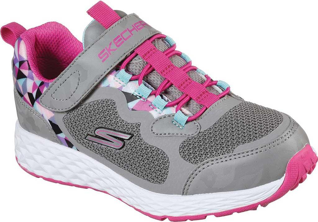 Girls' Skechers Tread Lite Sneaker, Gray, large, image 1