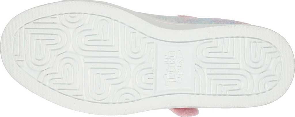Girls' Skechers Twinkle Toes Sparkle Rayz Unicorn Moondust Sneaker, Light Blue/Multi, large, image 5
