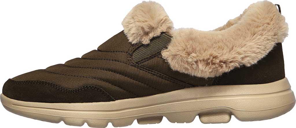 Women's Skechers GOwalk 5 Comfy Sneaker, Olive, large, image 3