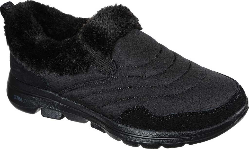 Women's Skechers GOwalk 5 Comfy Sneaker, Black/Black, large, image 1