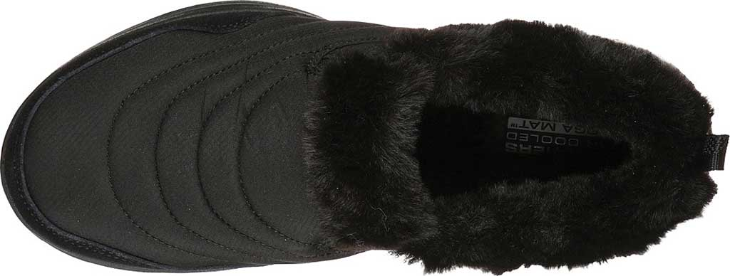 Women's Skechers GOwalk 5 Comfy Sneaker, Black/Black, large, image 4