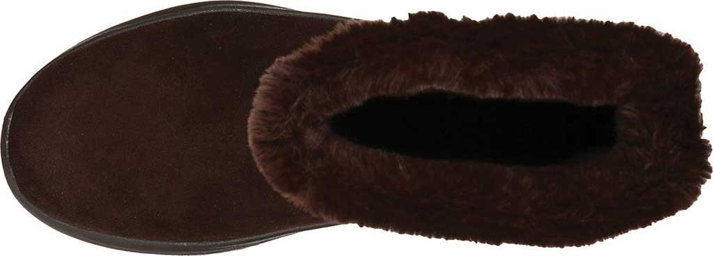 Women's Skechers GOwalk Arch Fit Embrace Bootie, Chocolate, large, image 4