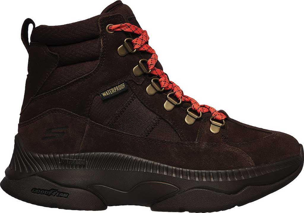 Women's Skechers On the GO Tempo Mountain Peak Trail Sneaker, Chocolate, large, image 2