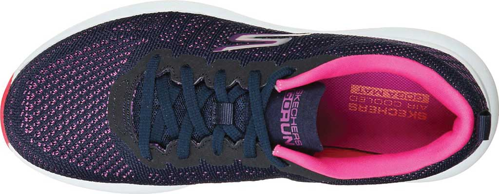 Women's Skechers GOrun Pulse Ultimate Best Running Sneaker, Navy/Purple, large, image 4