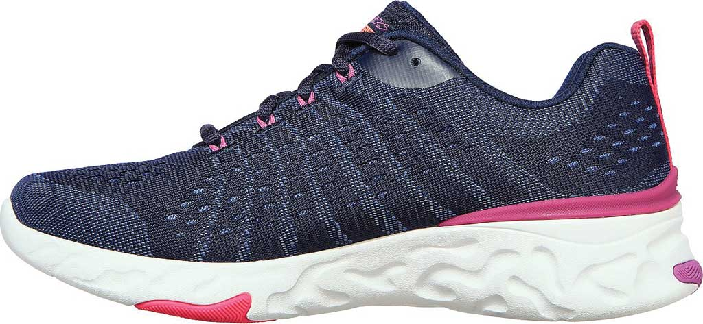 Women's Skechers Eclipse She's Breezy Sneaker, Navy/Multi, large, image 3