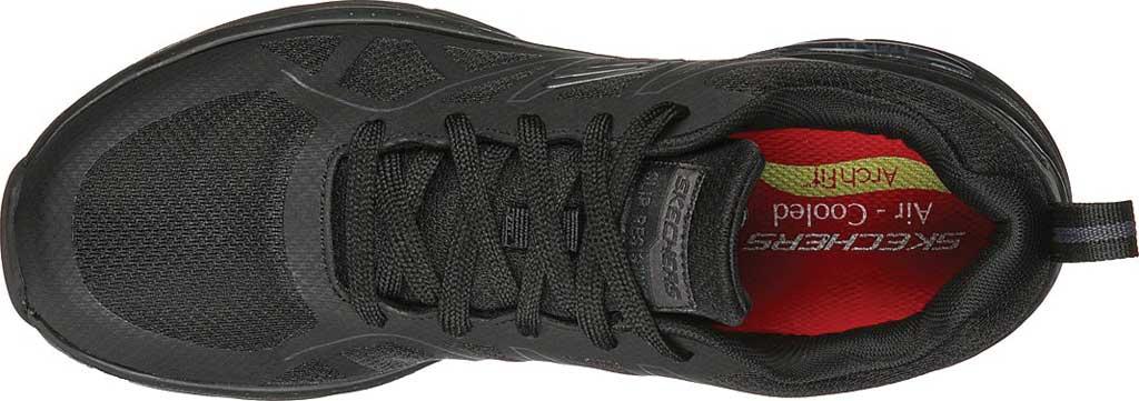 Men's Skechers Work Arch Fit Slip Resistant Axtell Sneaker, Black, large, image 4