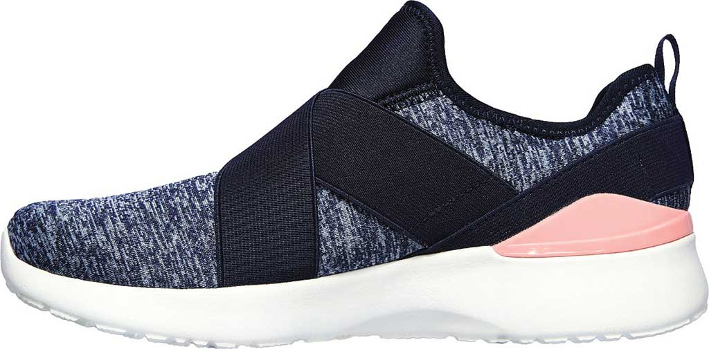 Women's Skechers Skech-Air Dynamight Big Step Trainer, Navy/Pink, large, image 3