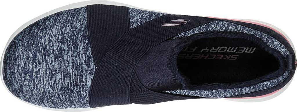 Women's Skechers Skech-Air Dynamight Big Step Trainer, Navy/Pink, large, image 4