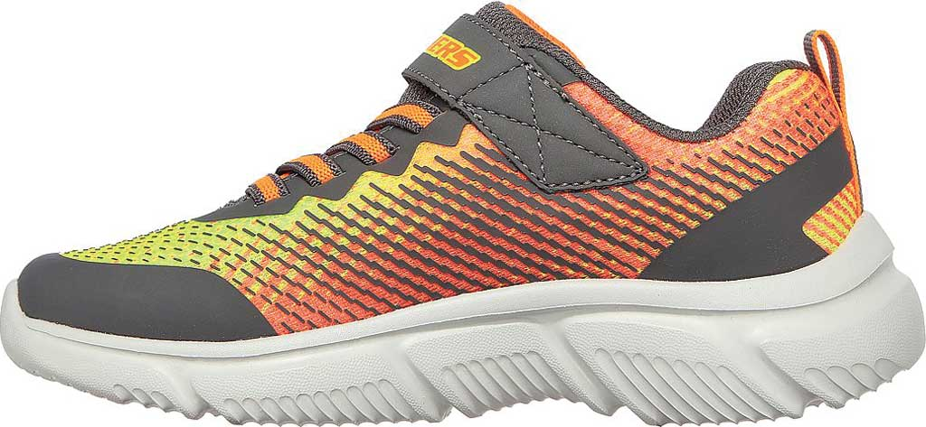 Boys' Skechers GOrun 650 Norvo Running Sneaker, Charcoal/Orange, large, image 3