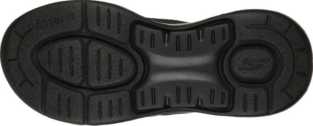 Women's Skechers Go Walk Arch Fit Weekender Thong Sandal, Black/Black, large, image 5