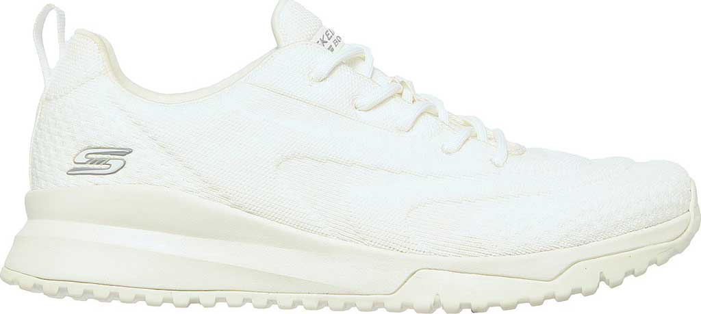 Women's Skechers BOBS Squad 3 Color Swatch Vegan Sneaker, Off White, large, image 2