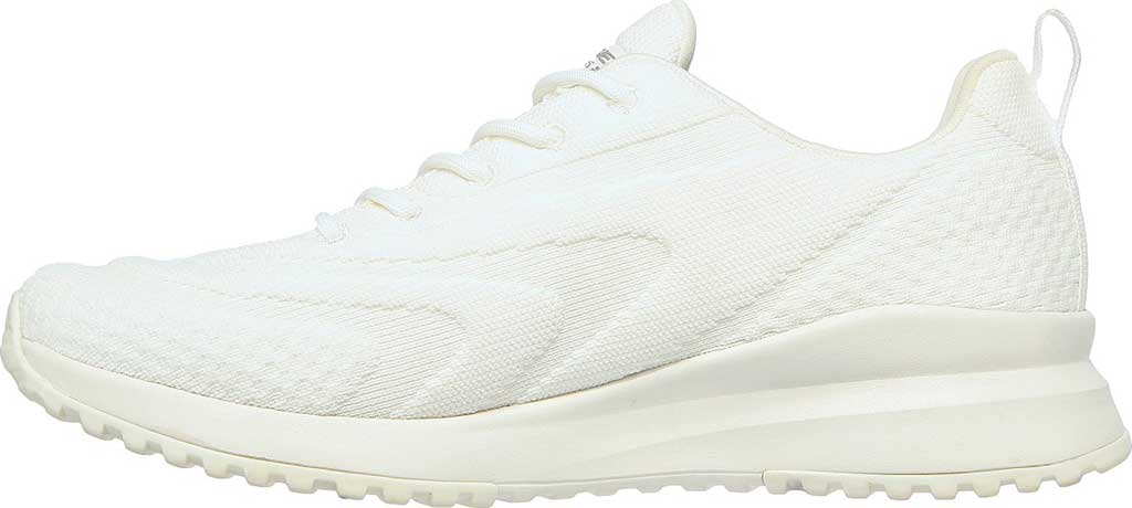 Women's Skechers BOBS Squad 3 Color Swatch Vegan Sneaker, Off White, large, image 3