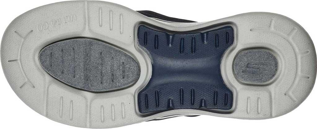 Women's Skechers GOwalk Arch Fit Astound Flip Flop, Navy/Gray, large, image 5