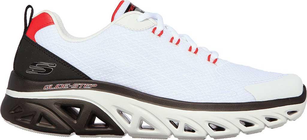 Men's Skechers GlideStep Sport Controller Vegan Sneaker, White/Black, large, image 2