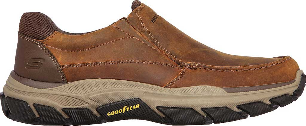Men's Skechers Relaxed Fit Respected Catel Slip On Loafer, Chocolate Dark Brown, large, image 2