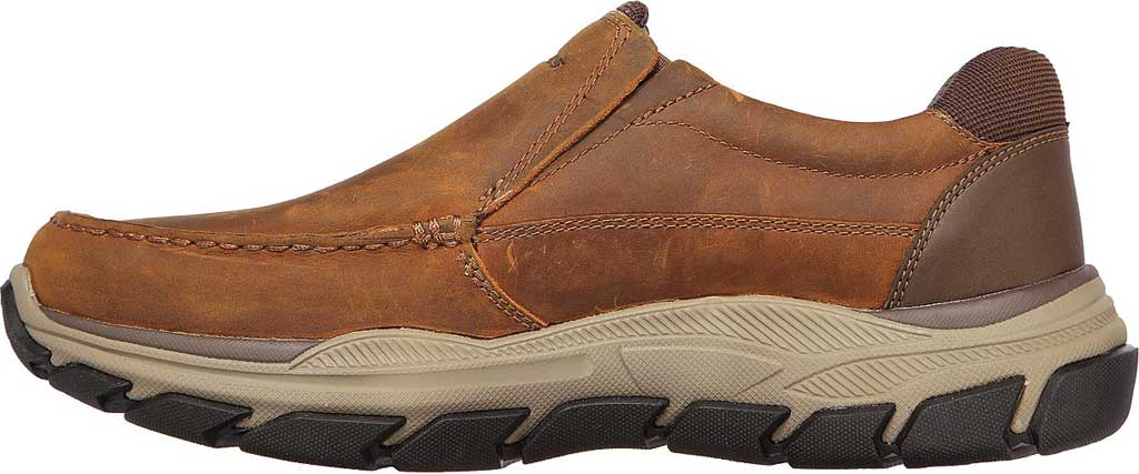 Men's Skechers Relaxed Fit Respected Catel Slip On Loafer, Chocolate Dark Brown, large, image 3