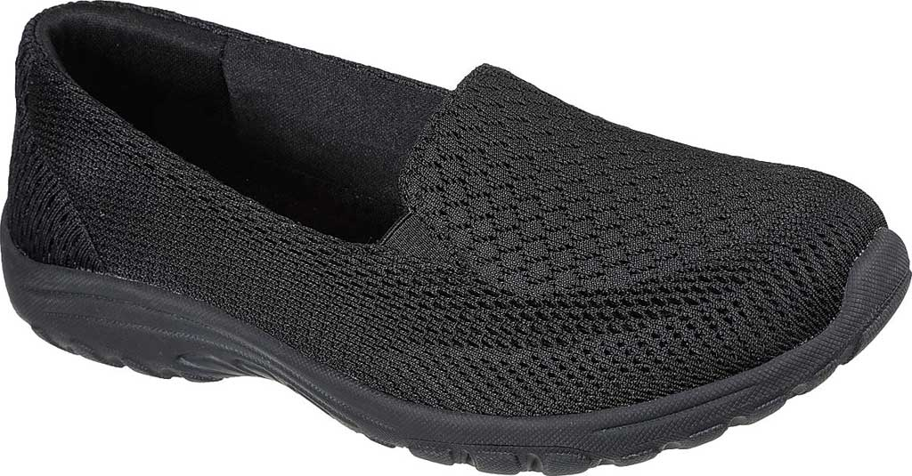 Women's Skechers Relaxed Fit Reggae Fest 2.0 Sweet Poise Sneaker, Black/Black, large, image 1