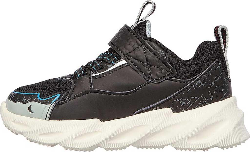 Infant Boys' Skechers SharkBots Surf Patrol Platform Sneaker, Black/White, large, image 3