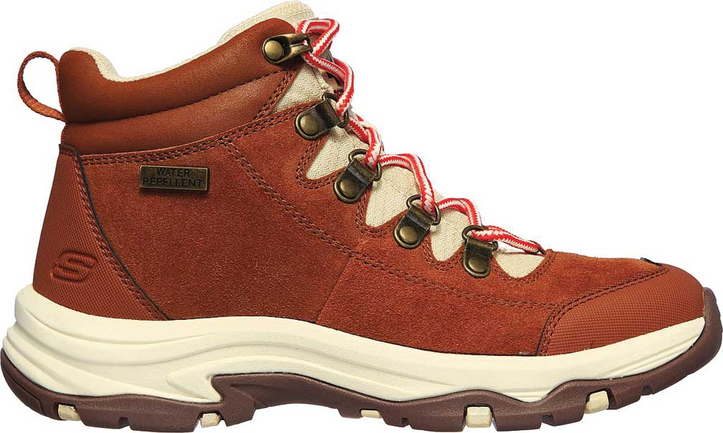 Women's Skechers Relaxed Fit Trego El Capitan Hiking Boot, Cognac, large, image 2