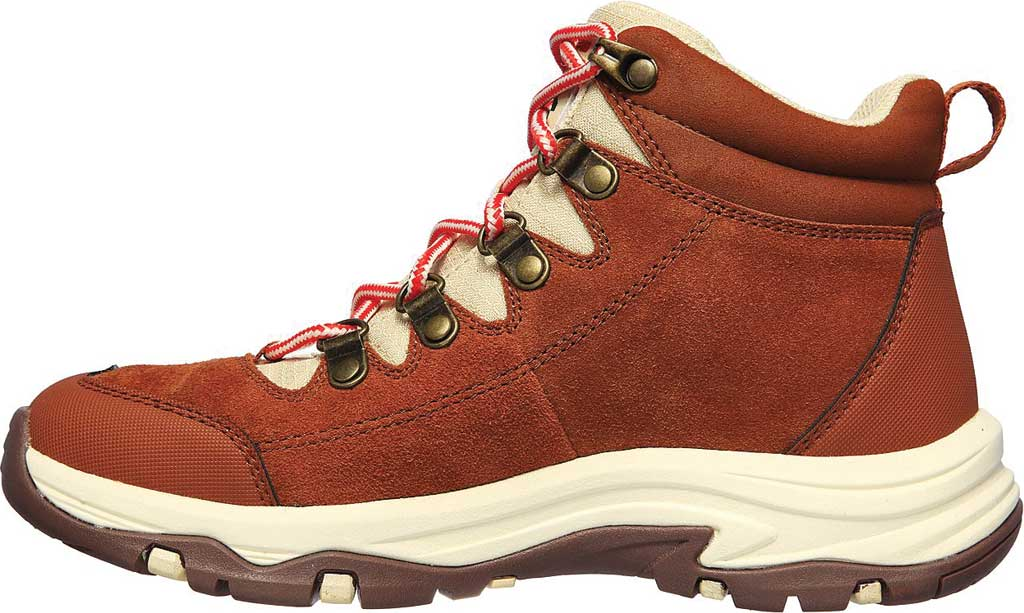 Women's Skechers Relaxed Fit Trego El Capitan Hiking Boot, Cognac, large, image 3