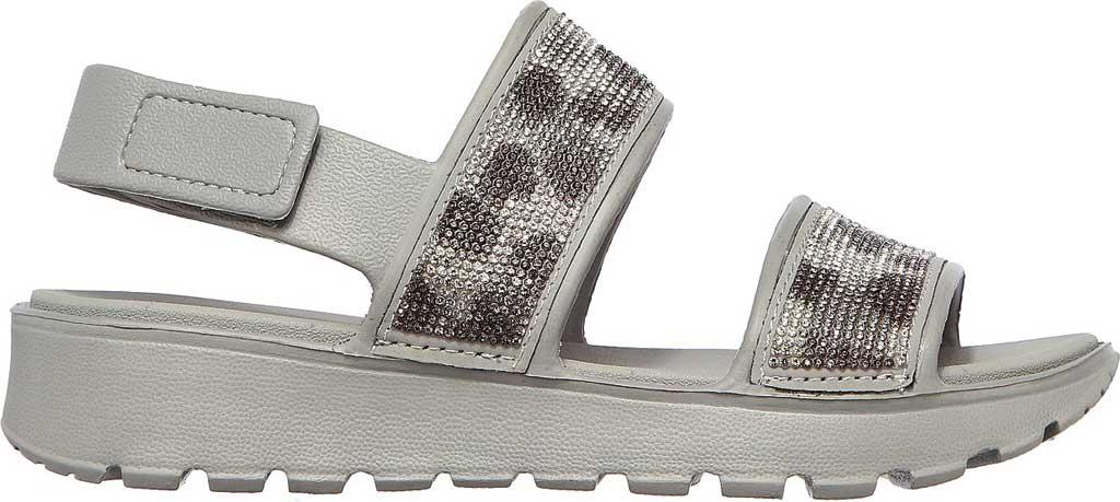 Women's Skechers Foamies Footsteps Slingback Sandal, Gray, large, image 2