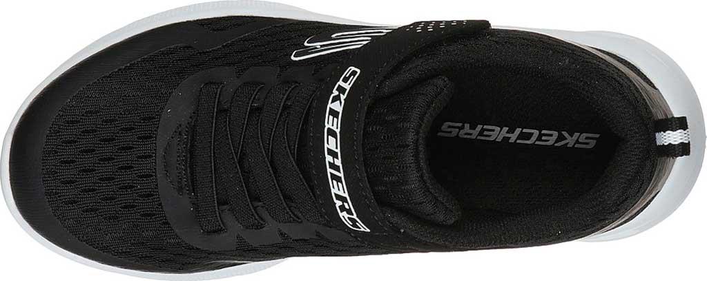 Boys' Skechers Microspec Max Torvix Sneaker, Black, large, image 4