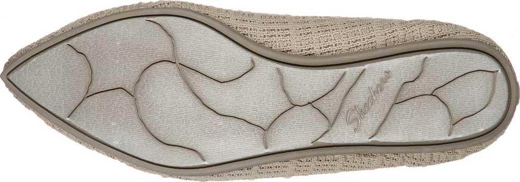 Women's Skechers Cleo Point Vegan Ballet Flat, Natural, large, image 5