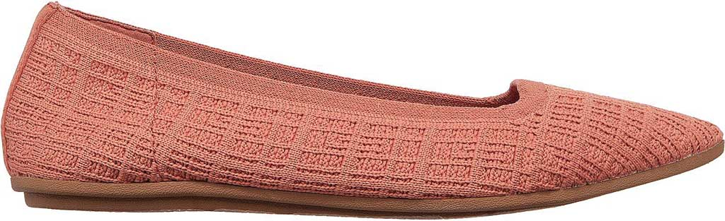 Women's Skechers Cleo Point Vegan Ballet Flat, Rose, large, image 2