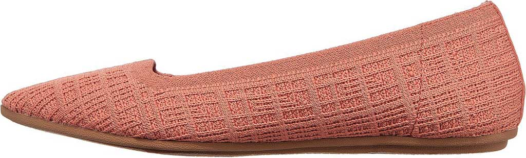 Women's Skechers Cleo Point Vegan Ballet Flat, Rose, large, image 3