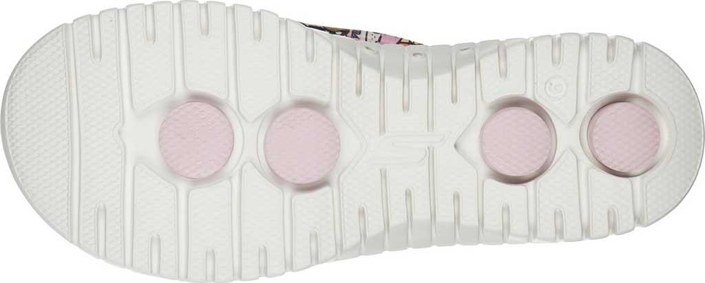 Women's Skechers Foamies GOwalk Smart Fur-Get-It Flip Flop, Lavender/Multi, large, image 5