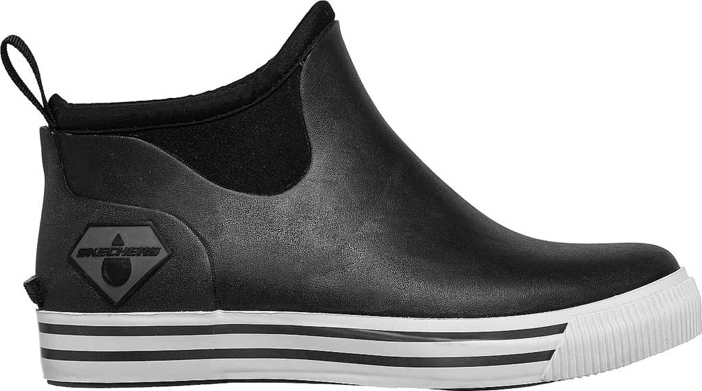 Women's Skechers Work Moltke Moncks Waterproof Chelsea Boot, Black, large, image 2