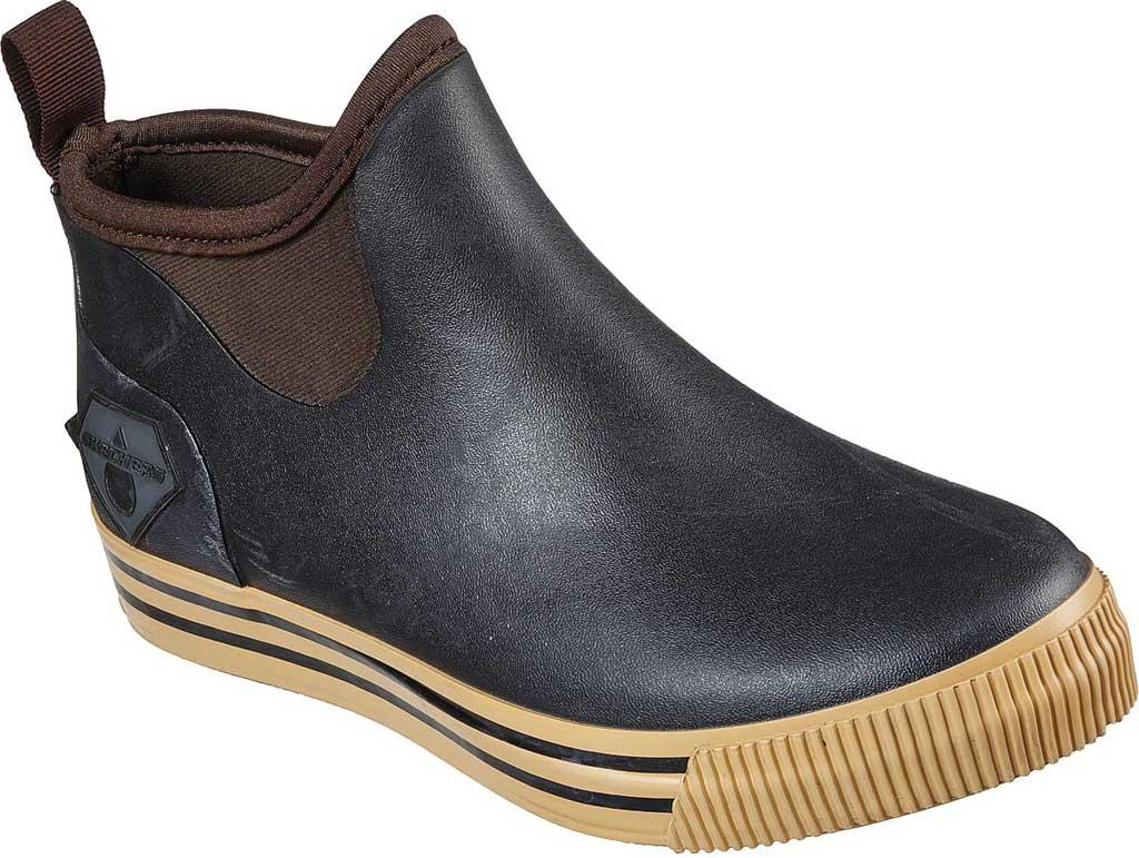 Women's Skechers Work Moltke Moncks Waterproof Chelsea Boot, Brown, large, image 1