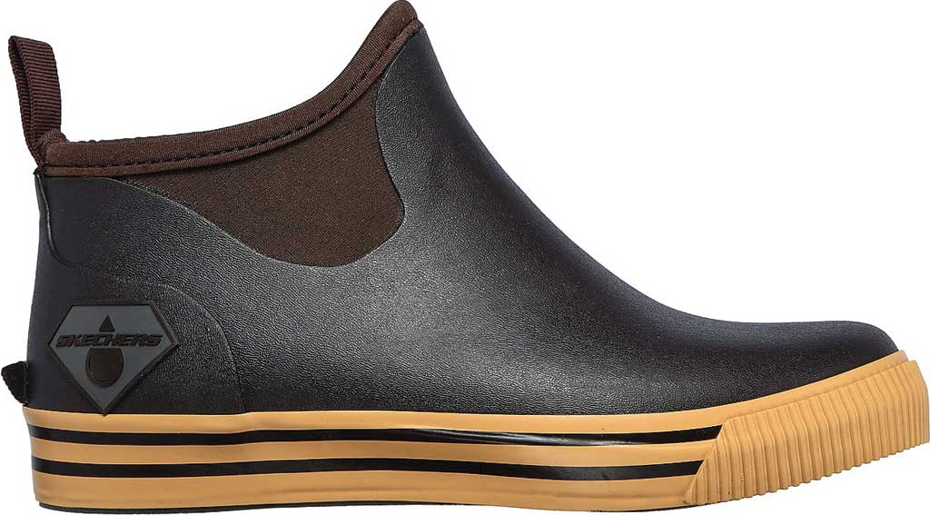 Women's Skechers Work Moltke Moncks Waterproof Chelsea Boot, Brown, large, image 2