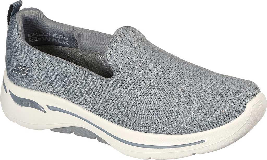 Women's Skechers GOwalk Arch Fit Unlimited Time Vegan Sneaker, Gray, large, image 1
