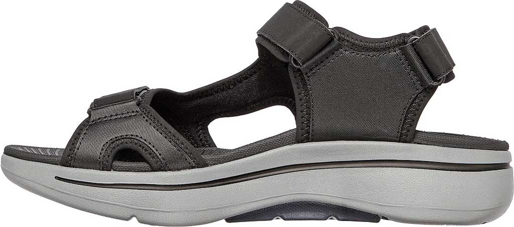 Men's Skechers GOwalk Arch Fit Mission Active Sandal, Black/Navy, large, image 3