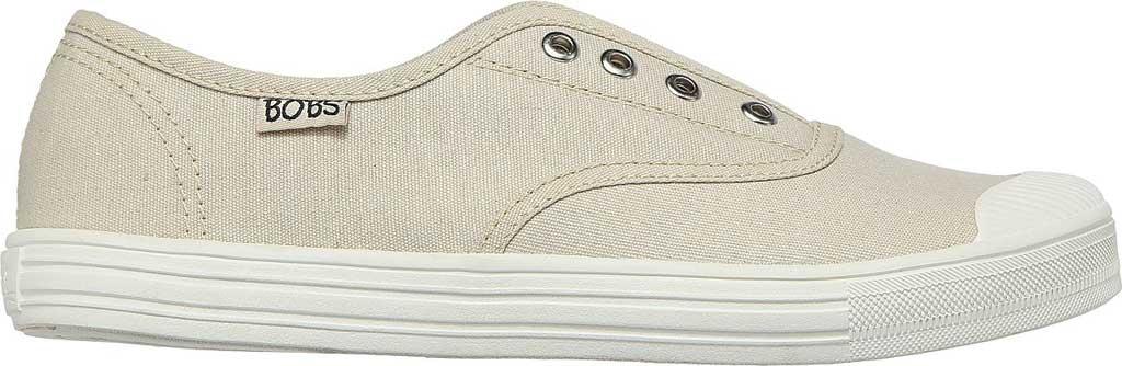 Women's Skechers BOBS B Cool Jam Star Vegan Slip On Sneaker, Off White, large, image 2