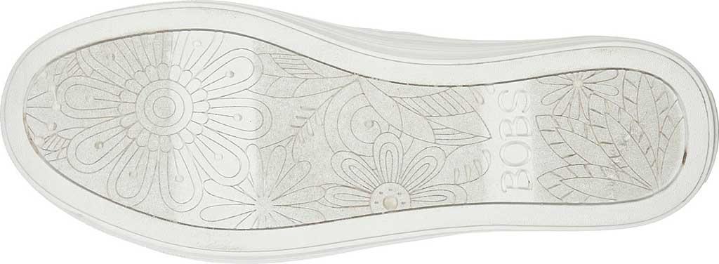Women's Skechers BOBS B Cool Jam Star Vegan Slip On Sneaker, Off White, large, image 5