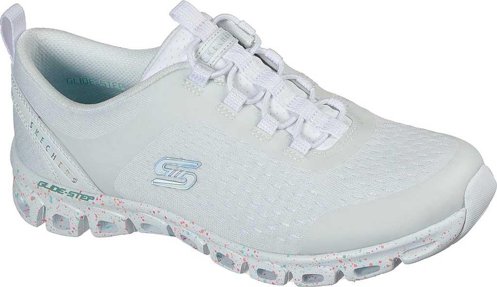Women's Skechers Glide-Step Classic Sneaker, White/Multi, large, image 1