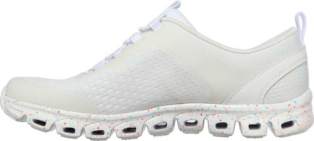 Women's Skechers Glide-Step Classic Sneaker, White/Multi, large, image 3
